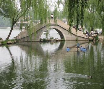 Zizhuyuan Park (Black Bamboo Park) Beijing
