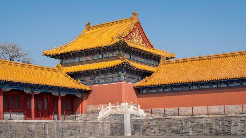 Golden Roofs of Forbidden City