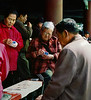 Card Game, Temple of Heaven, Beijing, China (Pentax 645)
