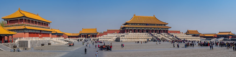 Taihedian Square and Hall of Supreme Harmony