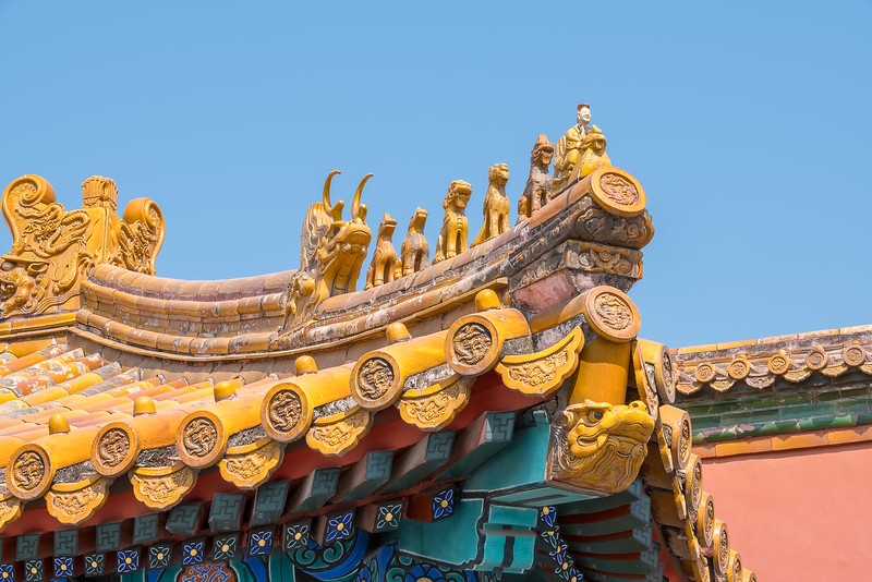 Roof Detail with Dragons