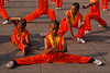 China, Henan, Shaolin: The Kung Fu entrance show