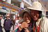 China, Qinghai, Yushu: Happy Tibetans