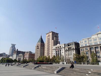 Bund area in Shanghai