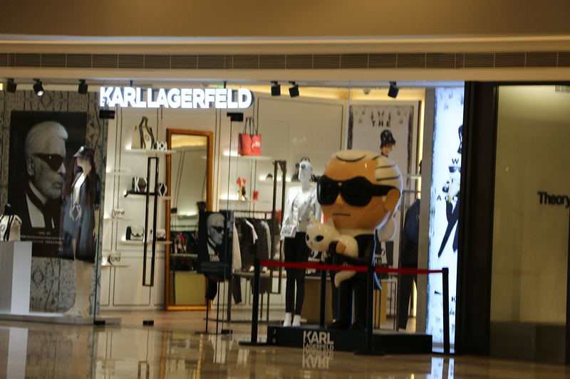 In memory of Karl Lagerfield - China