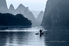 Fishing on the Li River, early morning, Xingping, Guilin, China