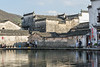 Ming and Ching dynasty building on Half Moon Lake, Hongcun Ancient Town, Lixian, Anhui, China