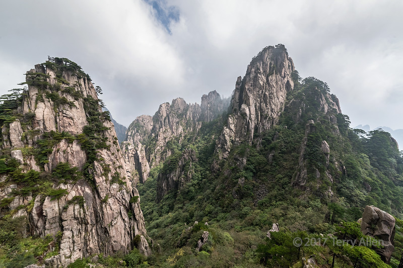 Yellow Mountains, Huangshan National Park, Anhui Province, China