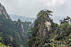 Misty Yellow Mountains (Huangshan), Anhui Province, China