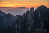 Another beautiful sunrise in Huangshan National Park, Anhui, China