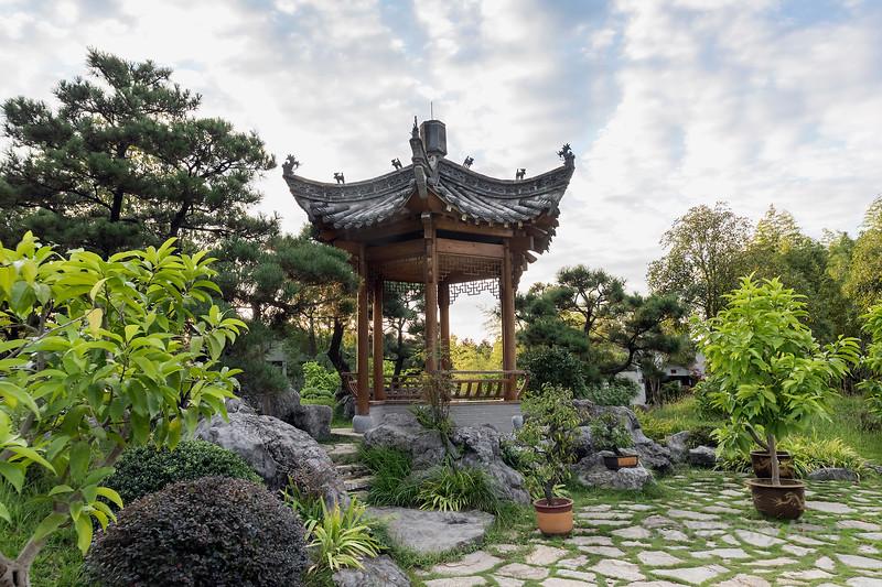 Pagoda in the Bao Family Garden, Tanqyue, Shexian, China