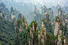 Wulingyuan sandstone pillars