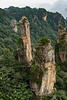 Sandstone pillars and forest, Wulingyuan, Zhangiajie, Yunnan, China