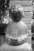 Smiling Buddha statue, Jianfu Temple, Chang'an City,  Silk Road Chang'an_Tianshan Corridor, UNESCO, Xian, China
