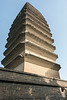 Small Wild Goose Pagoda, 707 AD (Tang Dynasty Buddhist architecture), Silk Road, Xian, China