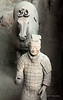 Terracotta warrior and his horse