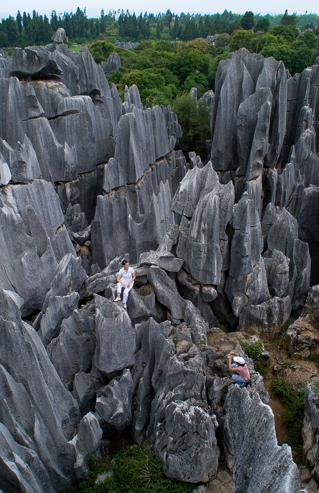 Stone Forest Yunnan China (66686147)