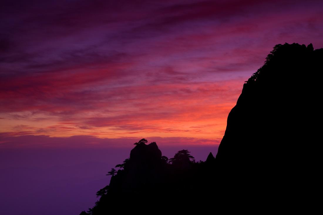 Winter Sunrise Huang Shan (73188728)