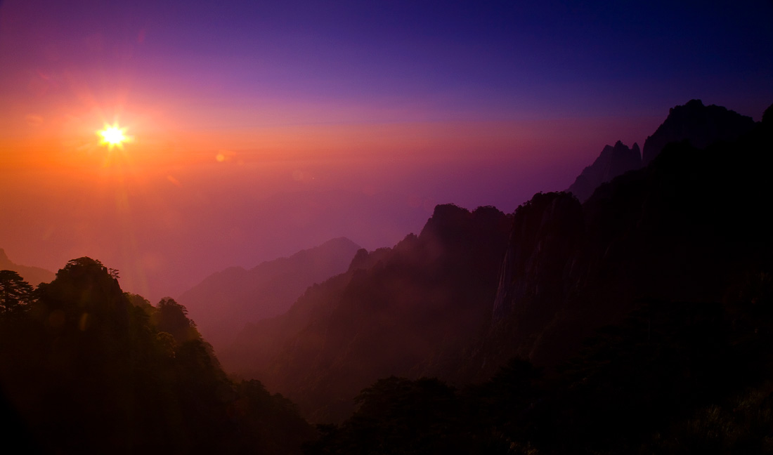 Winter Sunrise Huang Shan (73188740)