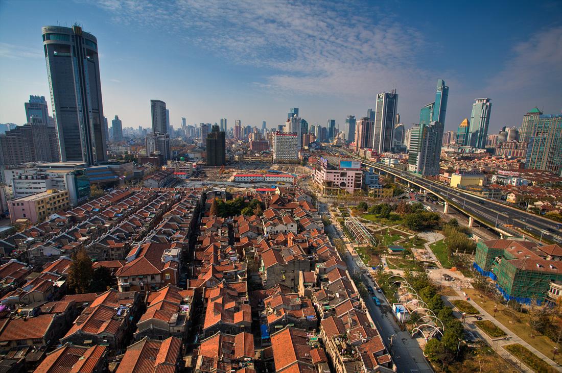 Ugly Shanghai is chasing Old Shanghai away