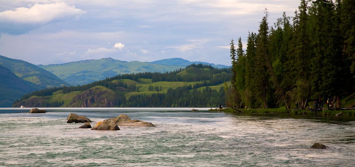 Lake Kanas XinJiang China