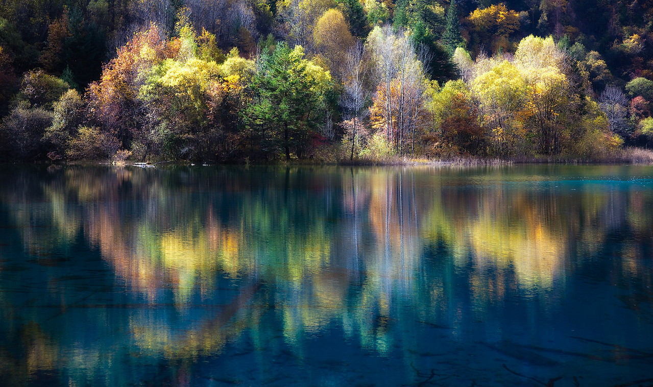 Five Flower Lake, Jiuzhaiguo, China