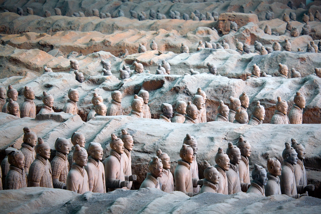 Terra-Cotta Soldiers in Xian China (65233263)