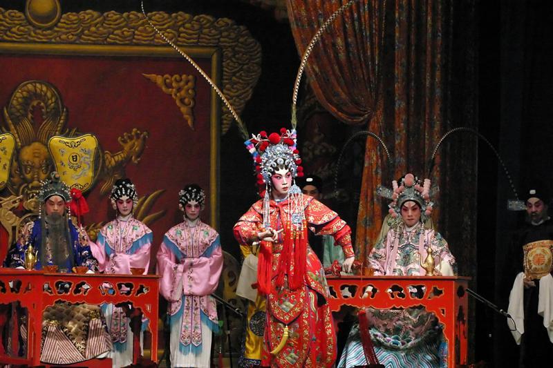 Cantonese Opera, Hong Kong, China