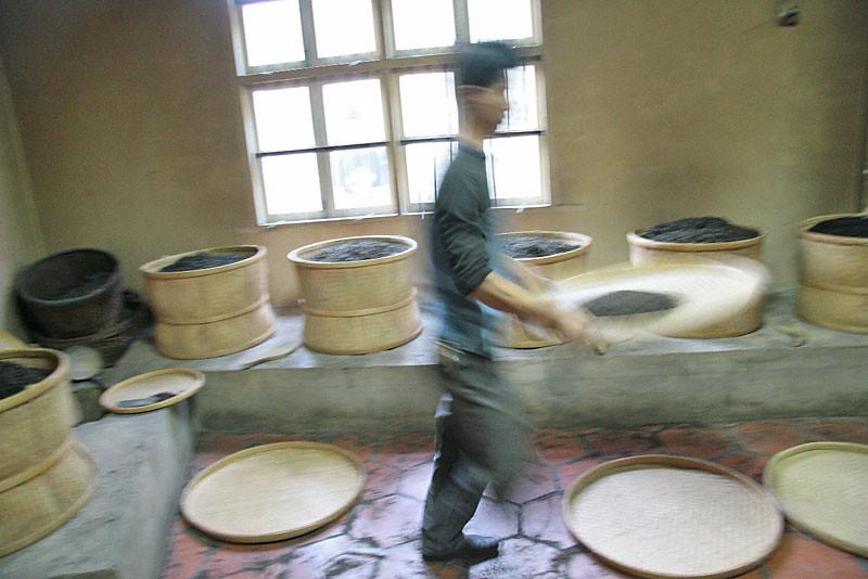 Oolong Tea in the Charcoal Firing Room