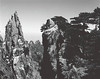 Huangshan, view from trail near Alien Rock. This is with 80 mm lens for wider image.