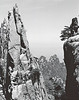 Huangshan, view from trail near Alien Rock. This is with 150 mm lens