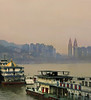 Docks, Chongqing, 20.63 x 18.51 inches (Pentax)