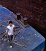 Young Man on a Barge, Three River Gorges Lock (Canon)