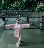 Mistress of Tai Chi (Pink), Front View, City Park