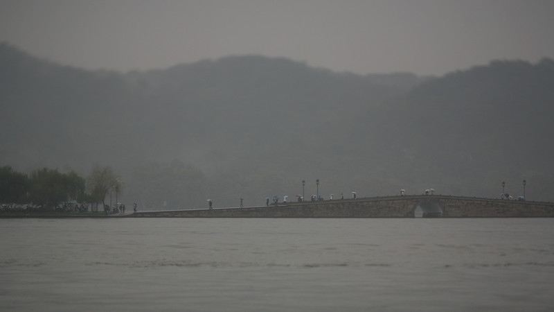 Rainy Day, West Lake, Hangzhou, China