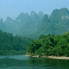 The karst topography along the Li River between Guilin and Yangshou is utterly spectacular.