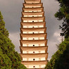 This Tang Dynasty pagoda in Dali was completed in 850AD, and it has withstood every earthquake since.