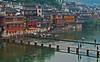 Bridge over Tuo River (Daytime)