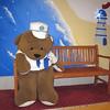 Sad captain bear.
