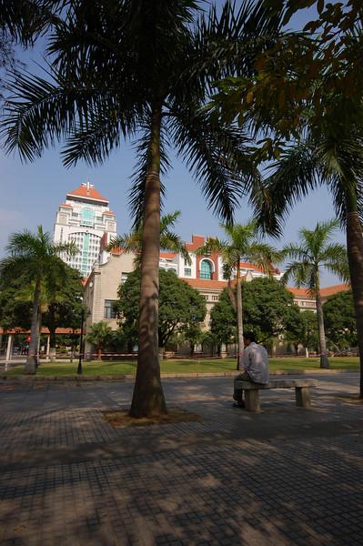 Breezy campus of Xiamen University