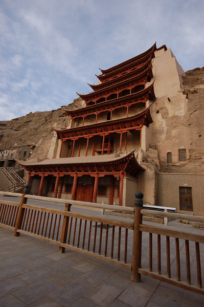 The Mogao caves another expensive Dunhuang sight.