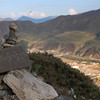 Mani stones and views of Labrang Monastery from the upper kora