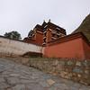 A temple building