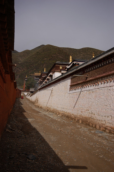 Inside the Labrang Monastery city