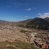 Views of Labrang Monastery from the upper kora