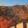Great Wall at fall, Beijing
