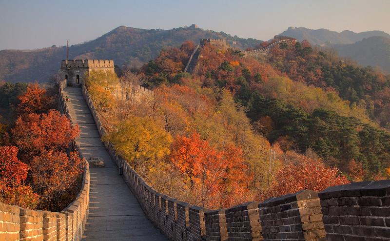 Mu Tian Yu Great Wall at fall