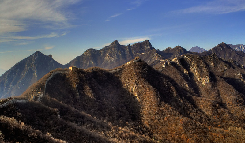 Jiankou Great Wall:  This gives a good idea of the 1988 climb!