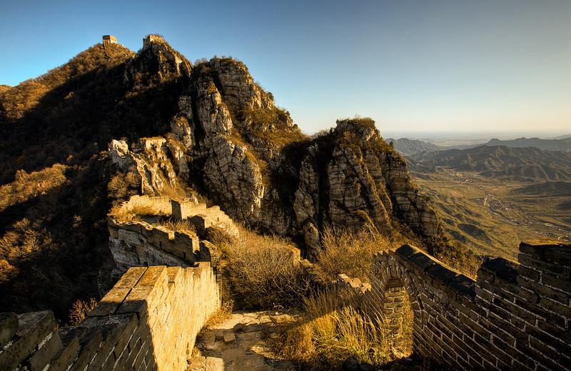 Sunset at the Jiankou Great Wall