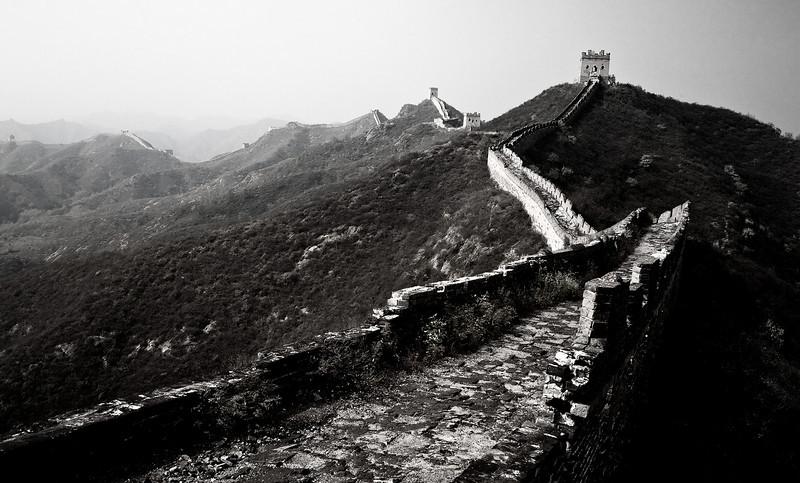 Jin Shan Ling Great Wall in Autumn